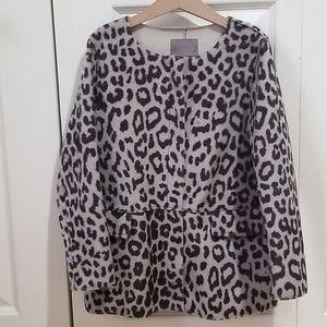 Child's Faux Animal Print Jacket